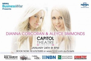 NRMA BusinessWise Presents Dianna Corcoran & Aleyce Simmonds at the 2014 Tamworth Country Music Festival