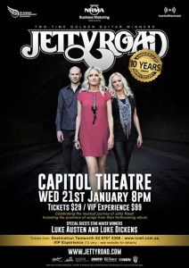 Jetty Road will celebrate it's 10 year anniversary at the 2015 Tamworth Country Music Festival.