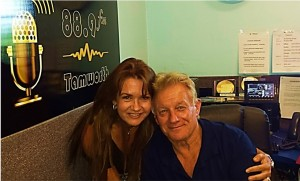 Tanya with Ray McCoy at 88.9FM