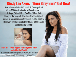 Kirsty Lee Akers - Burn Baby Burn Out Now! (2)