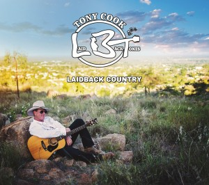 Tony Cook Laidback Country cover